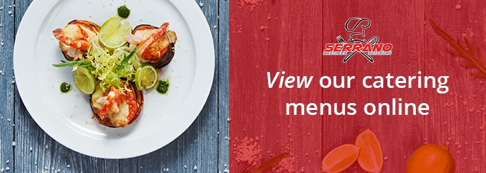 View our catering menus online